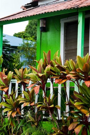 Usa old plantation home hawaii big island