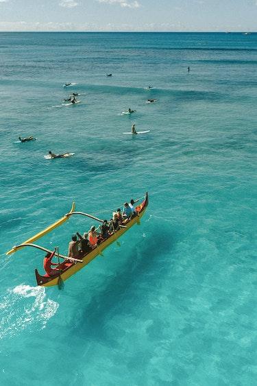 Usa hawaii beach ocean surfing