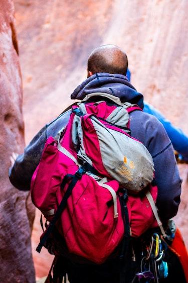 USA Zion Nationalpark Wanderung Canyon