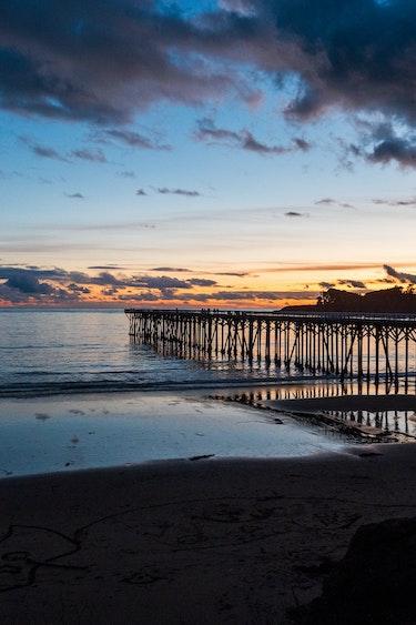 Strand Big Sur Kalifornien