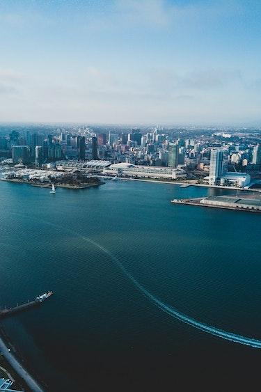 USA Kalifornien San Diego Hafen