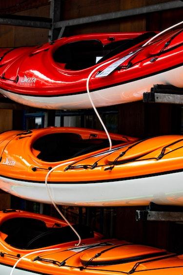 USA california lake tahoe activities canoeing