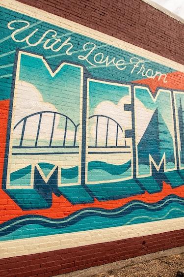 Usa memphis mural tennessee