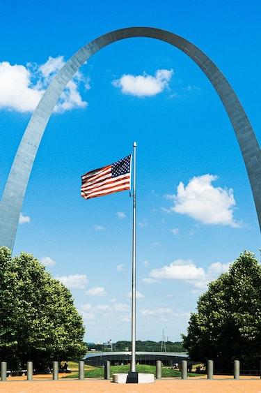 USA Missouri Gateway Arch Nationalpark Bogen