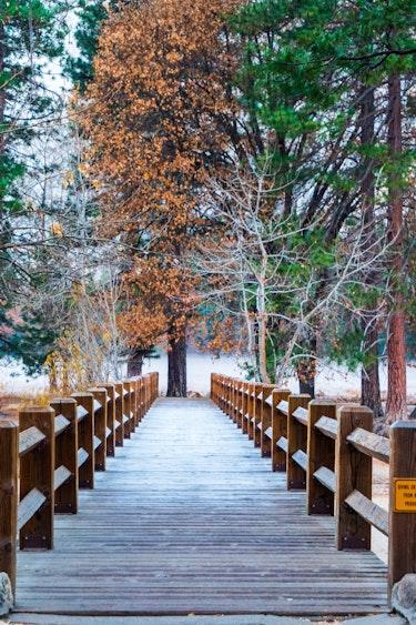Yosemite Nationalpark Brücke