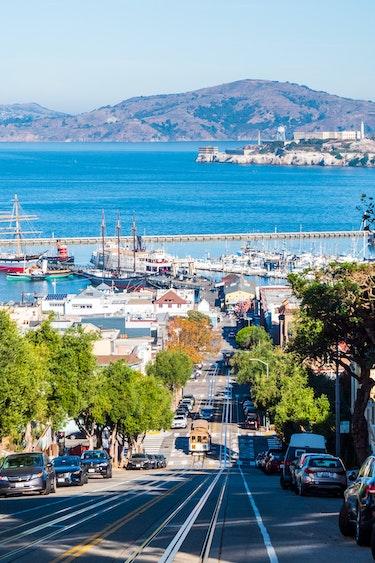 USA Kalifornien San Francisco Straße zum Meer