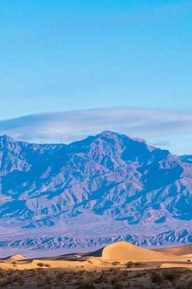 USA Kalifornien Death Valley Nationalpark Dünen