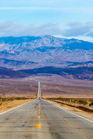 USA Kalifornien Death Valley Nationalpark Mojave Desert Straße