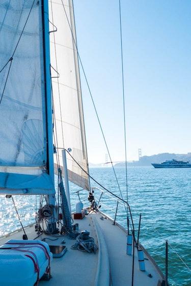 USA Kalifornien San Francisco Bay Segeln