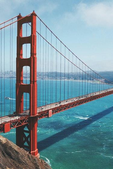 USA Kalifornien San Francisco Golden Gate Bridge