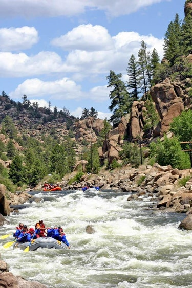 USA Colorado Salida Arkansas River Rafting