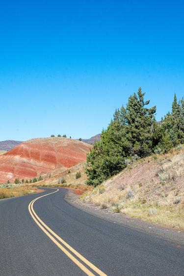 La places painted hills high desert
