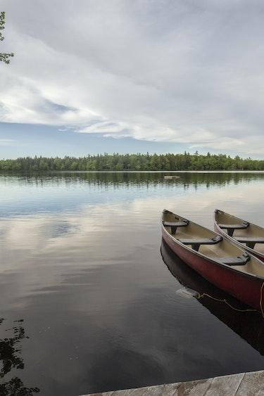 Canoe Mercy River 1704