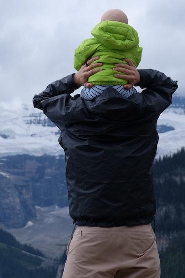 Can father child mountain austin walker unsplash