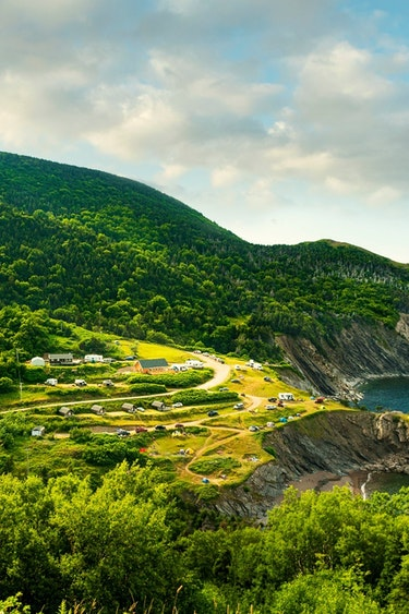 ca_couples_meat cove campground cape breton_view