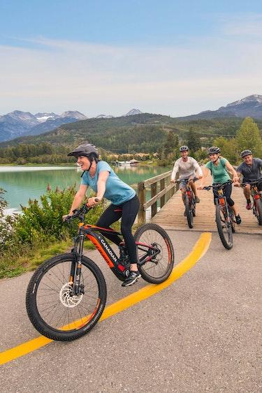 Can biking whistler credit tourism whistler blake jorgenson