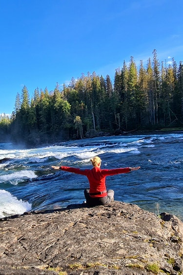 Canada Wells Gray Provincian Park Clearwater River