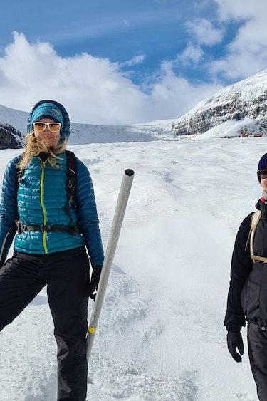 Melanie ilona icewalks canada columbia icefield