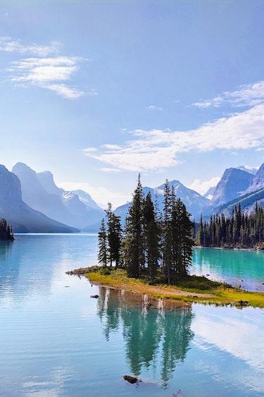 Jasper national park places canada