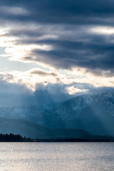 USA Kalifornien Lake Tahoe Landschaft