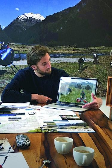 Reisadviseur Michiel Tafel laptop 1