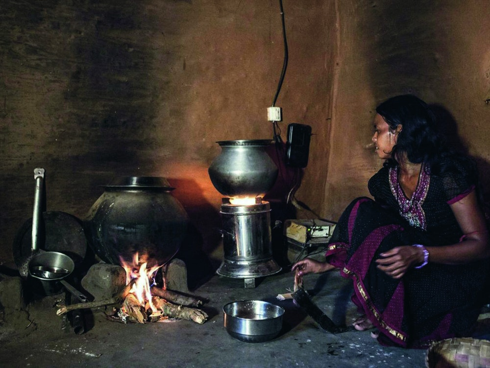 Our clean cookstoves in Asia reduce fuel used by 80%