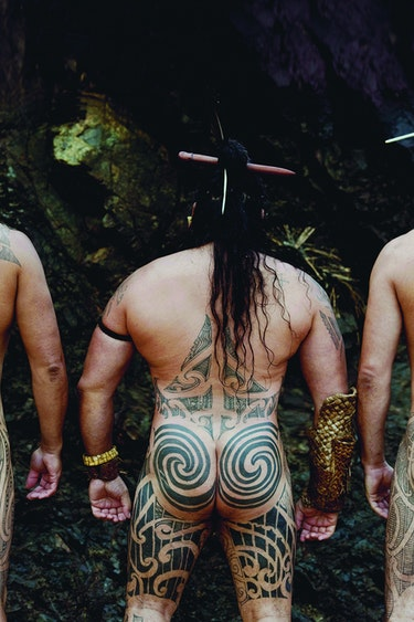 Maori Bums Uncoated Fotograf
