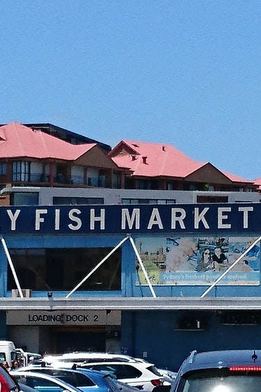 Reiservaring Australiē Edith en Henk Sydney Fish Market