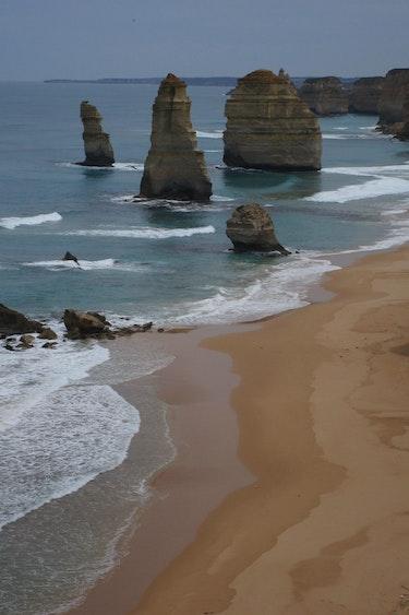 Reiservaring Australië Edith Henk kustlijn