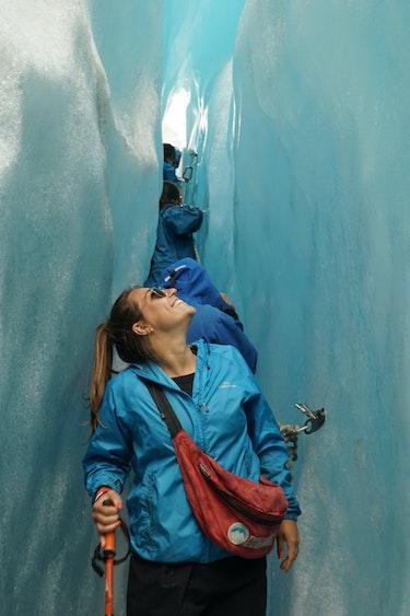 Simone nieuw zeeland Fox Glacier