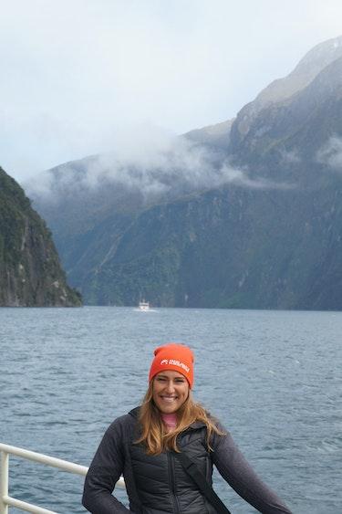 Simone nieuw zeeland Milford Sound