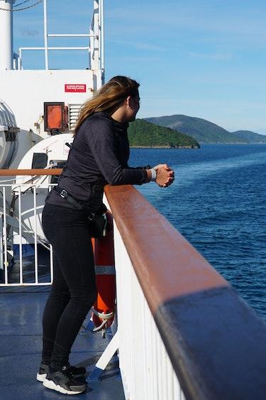 Simone nieuw zeeland Overtocht naar Wellington