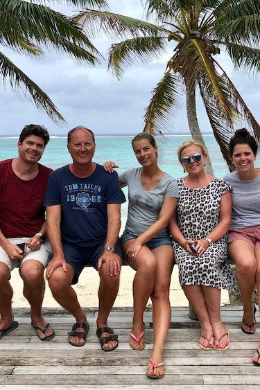 Hendrikjan cook islands team