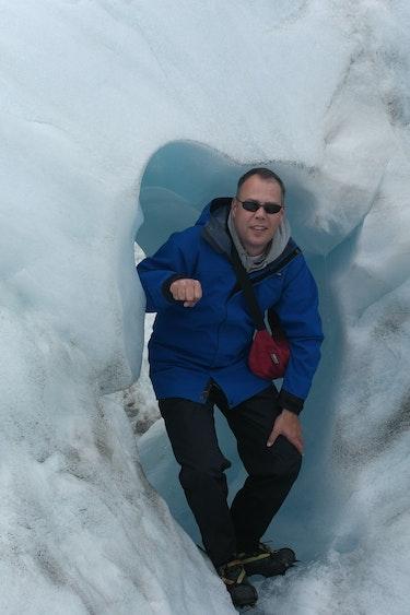 Mischa nz gletsjer hike