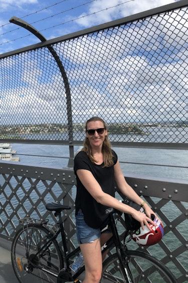 Sylvia australie sydney harbour bridge