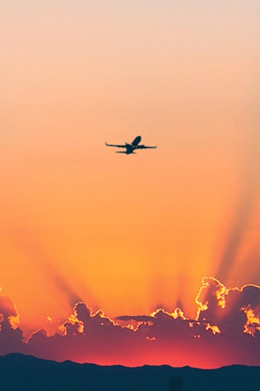Header vacancy plane sunrise