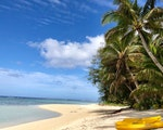Stunning Beach on Cook Islands | Stopover holiday Australia