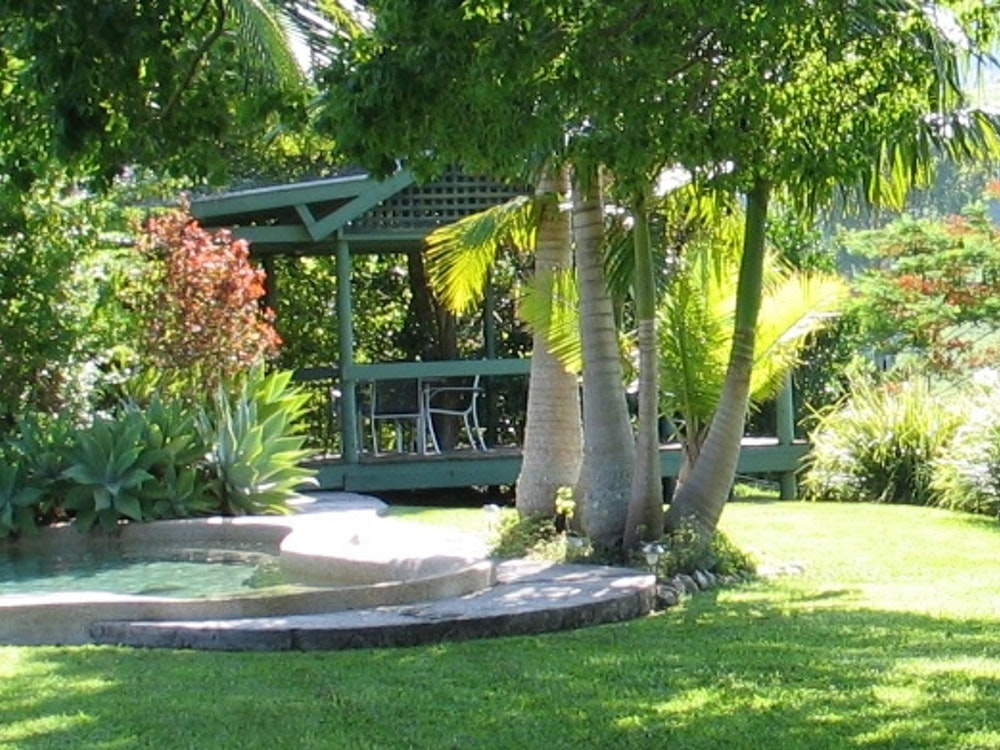 Lush garden | Australia holiday
