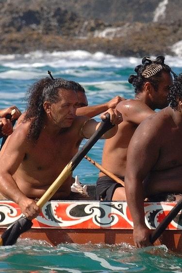Neuseeland Reise Kultur Maori Kanu