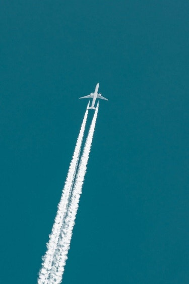 Aus flights plane sky