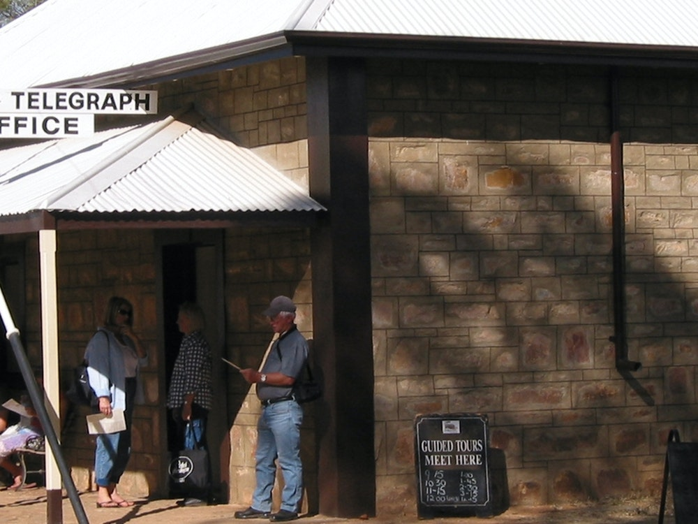 Alice springs telegraph station | Australia holiday