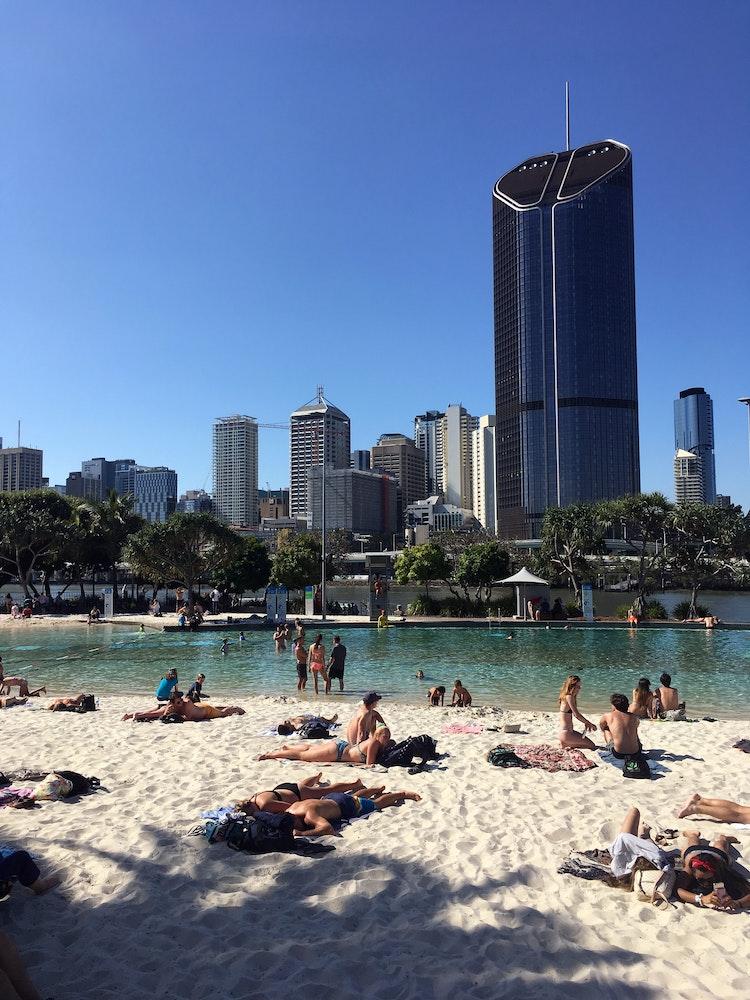 Beach in Brisbane | Australia holiday
