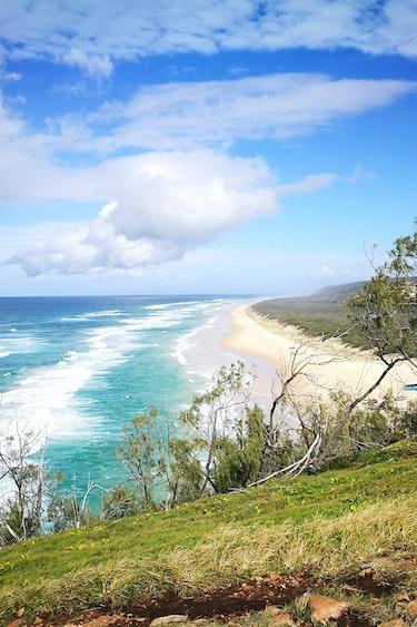 Australien Fraser Island Nationalpark Küste