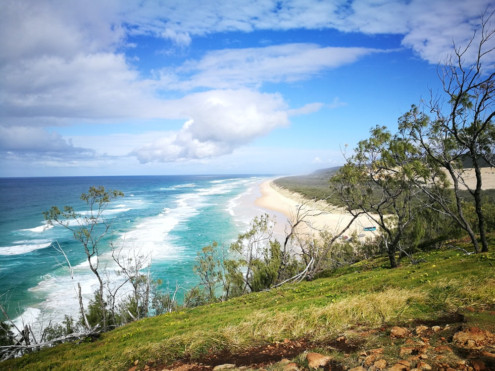 Beach Fraser Island | Australia holiday