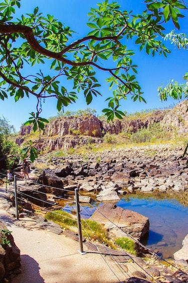 Australien Nitmiluk Nationalpark Wanderweg