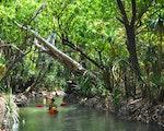 Kayaking over Katherine River | Australia active holiday