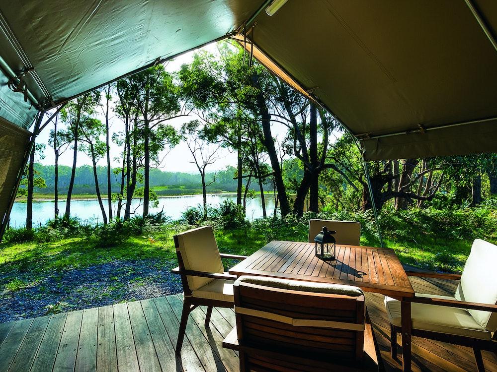 Luxury safari tent | Australia luxury holiday