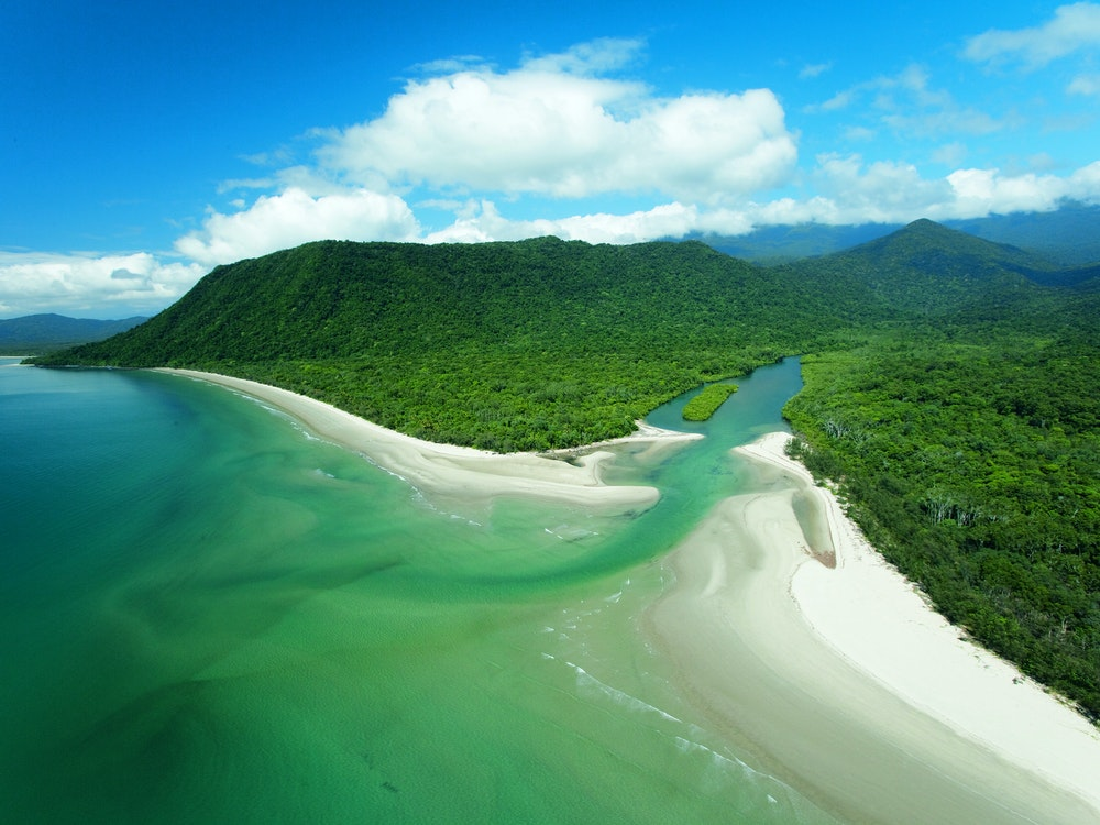 Beach Daintree   Australia holiday