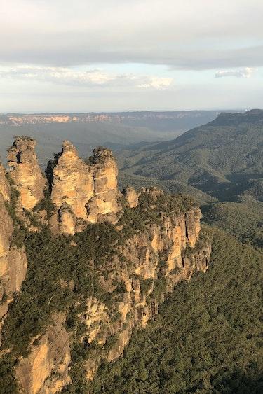 Australien Blue Mountains Nationalpark Echo Point