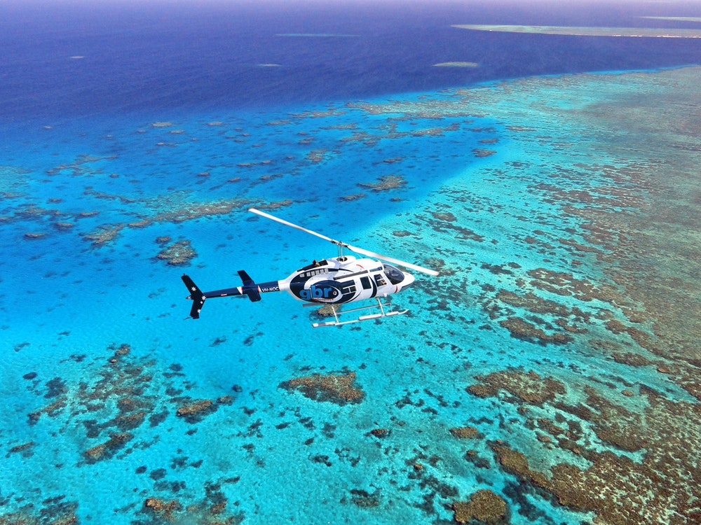 Explore the beauty of the East Coast by helicopter | Australia holiday